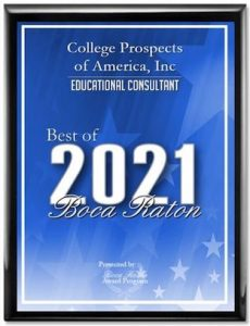 Boca Raton Award 2021